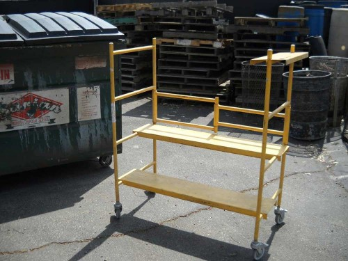 Small Rolling Scaffolding
