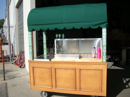 """Smoothie"" Cart"