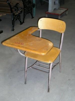 Wooden School Desks in School Desks/School