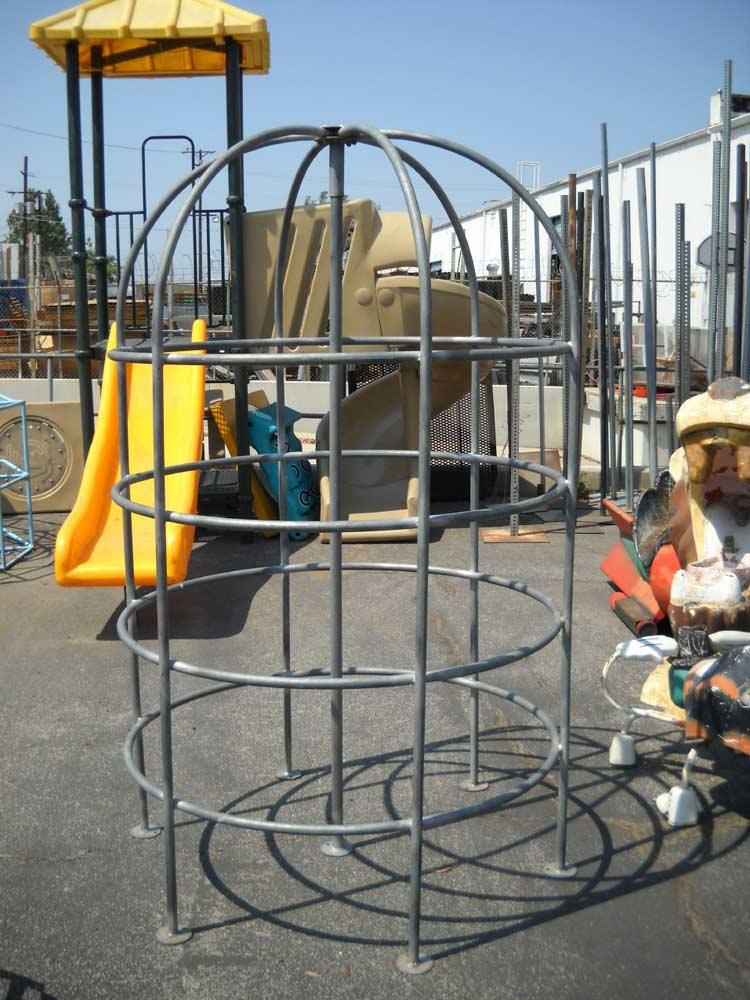 Playground Small Galvanized Jungle Gym Thin Pipe In