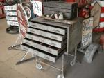 Vintage Rolling Tool Box