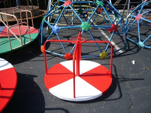 Playground - Small Metal Merry-Go-Round