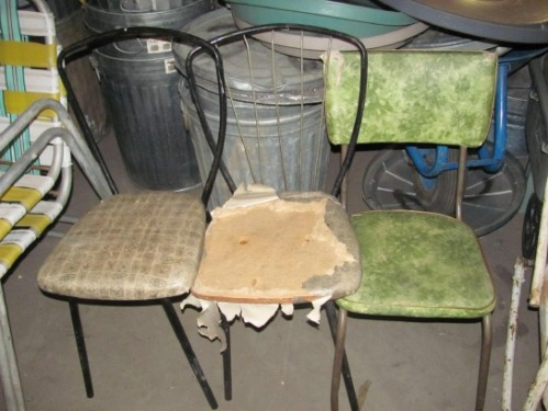 Old kitchen chairs