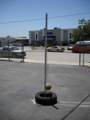 Playground -  Tether Ball Pole
