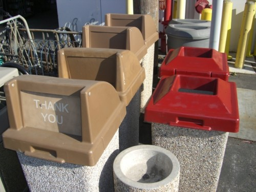 Pebble Trash Cans (Real)