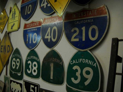 Various Freeway Signs